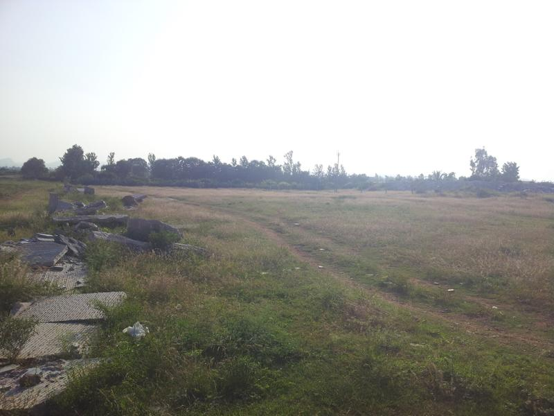 INDUSTRIAL  PLOT  FOR  SALE  9000 SQ YARD  IN  NAROL  7043395463