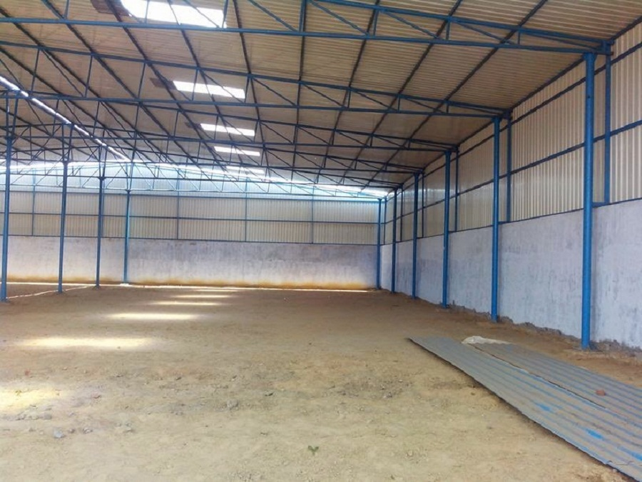 INDUSTRIAL SHED | WAREHOUSE FOR RENT | LEASE IN  BAVLA AHMEDABAD – 7043395463