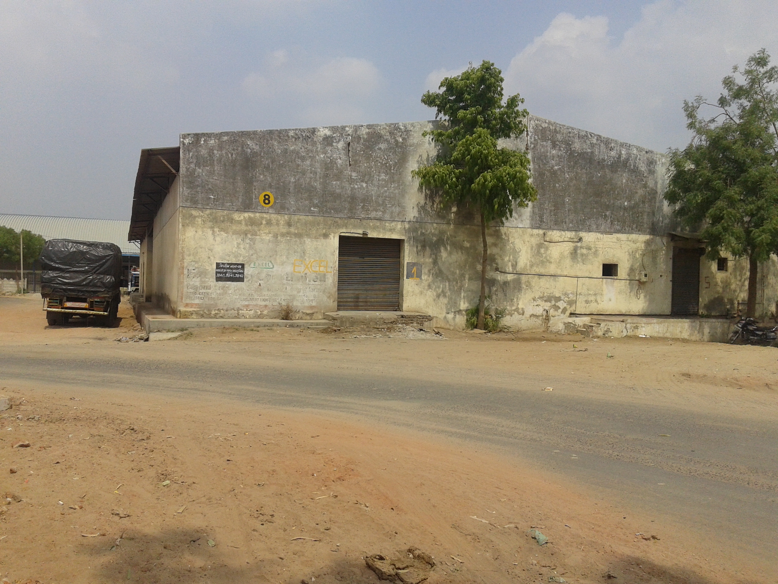 67000 SQ.FT SHED | FACTORY FOR RENT | LEASE IN CHHATRAL AHMEDABAD – 704339546